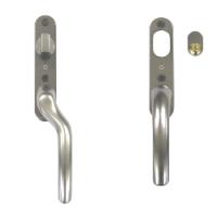 Utvändigt handtag med lås och tre nycklar till altandörr