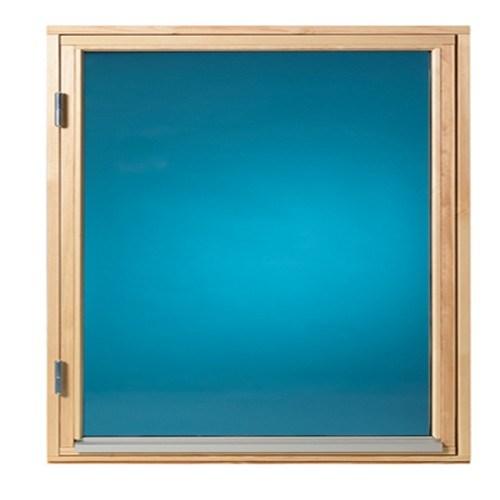 Fönster 80 x 80 cm, obehandlat, öppningsbart