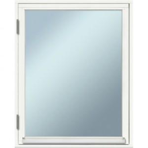 Fönster  80×100, öppningsbart, vitmålat, 2-glas