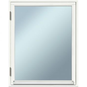 Fönster 80×100, 2-glas, vitmålade, öppingsbara