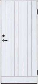 Bättre dörr på bild har utgått. Välj annan bättre dörr. Vitmålad 90×190 18 gr tät.