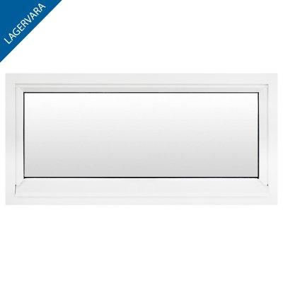Fönster 100×40, 3-glas, fast, vit (Loft)
