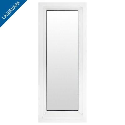 Fönster: 60×150, 3-glas, fast, vit