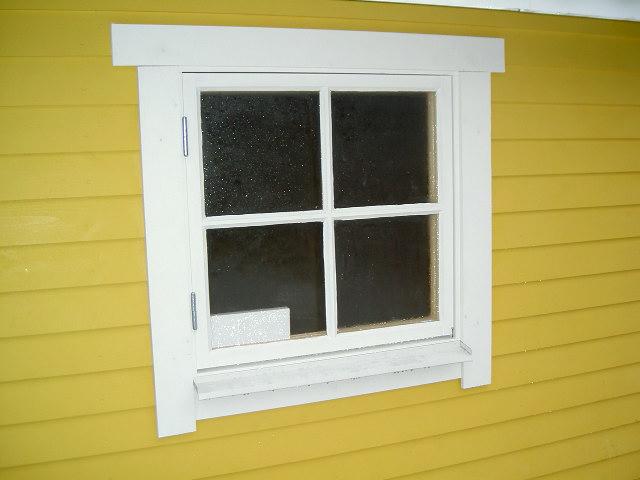 Löst fönsterspröjs (obehandlat)