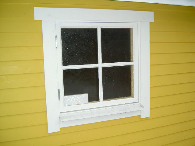 Lös fönsterspröjs, obehandlad  1:1