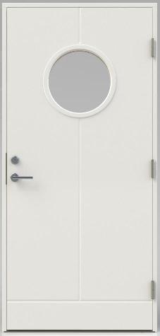 Bättre dörr: 90×200, 21 gr, vit,  (Trend)